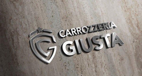 contatti immagine del logo della Carrozzeria Giusta